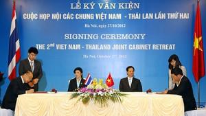 Hợp tác Việt Nam - Thái Lan